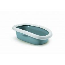 Stefanplast - Туалет Sprint-10 с рамкой,синий, 31*43*14 (TOILETTE SPRINT 10 BLU ACCIAIO/BIANCO) 96582