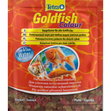 Tetragoldfish colour корм в хлопьях для улучшения окраса золотых рыб (Sachet)