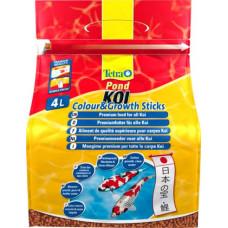 Tetra koi sticks energy энергетический корм для кои в гранулах 4 л