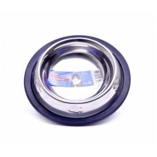 Trixie - Миска из нержавеющей стали с чеканкой на резинке, 11см, 0,25л