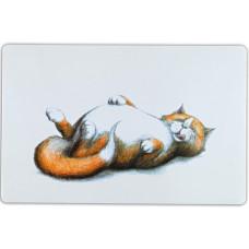 """Trixie - Коврик под миску """"Thick cat"""", 44х28 см"""