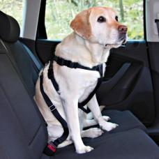 Trixie - Ремень безопасности для собак со шлейкой, 50-70 см