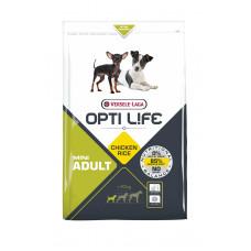 Versele-Laga - Opti life корм для взрослых собак малых пород с курицей и рисом