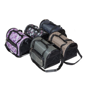 "Yami-Yami - сумка-переноска с карманами ""Гламур"", жаккард,35*25*22 см (4 кармана,раскладная)"