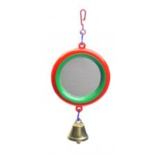 Yami-Yami - Зеркало с колокольчиком для попугая
