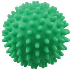 """Зооник - Игрушка для собак """"Мяч массажный №1"""" винил,  5,5см зеленый"""