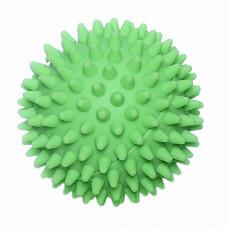"""Зооник - Игрушка для собак """"Мяч массажный №2"""" винил зеленый"""
