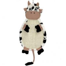 "Зооник - Когтеточка подвесная  ""Коровка"", ткань сизалевая 530х290х30мм"